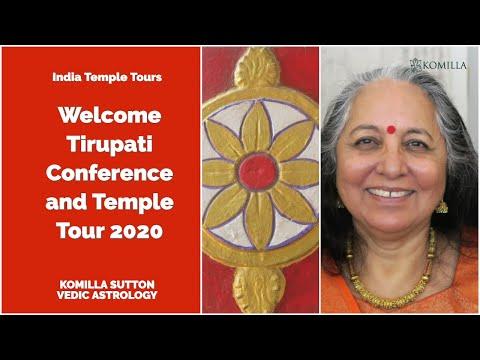 Welcome To 2020 Tirupati Conference & Temple Tour: Komilla Sutton