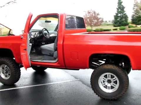 Custom 1978 Chevy K10 4x4 Pickup Truck Lifted - YouTube