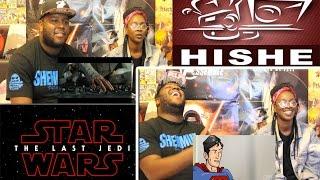 Kemi's Star Wars The Last Jedi REACTION + Super Cafe: The Last Trailer REACTION!!!