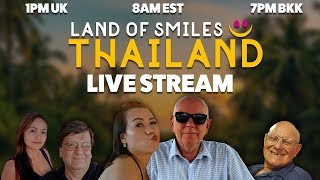 Thailand Livestream With The Land Of Smiles Team