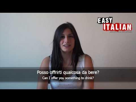 Introducing yourself - Easy Italian Basic Phrases 3