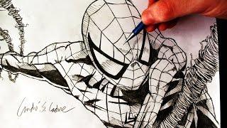 Desenhando o Homem Aranha (Drawing Spiderman) - HQ ART #5