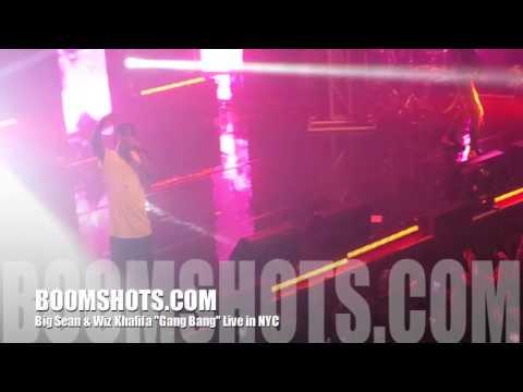 """Big Sean ft. Wiz Khalifa """"Gang Bang"""" Live in NYC"""