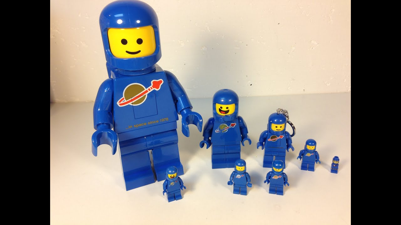 LEGO Giant Blue Spaceman Minifigure LED Lite - BIG Benny Lego ...