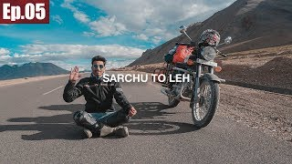 Sarchu to Leh   Taglang La Pass    Ladakh Trip 2017 ~Ep.05
