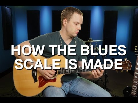 how-the-blues-scale-is-made---blues-guitar-lesson-#7