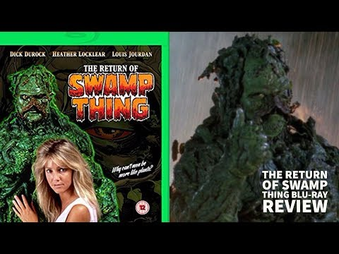 The Return of Swamp Thing (1989) movie blu-ray review