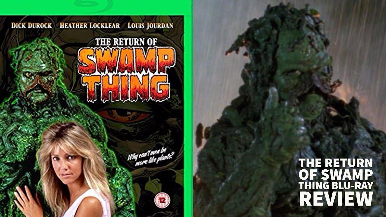 Resultado de imagen de the return of swamp thing
