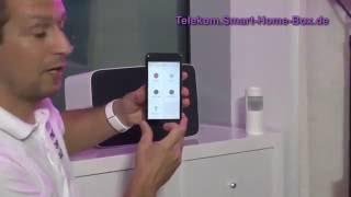Sonos Lautsprecher als Telekom SmartHome Alarmsystem