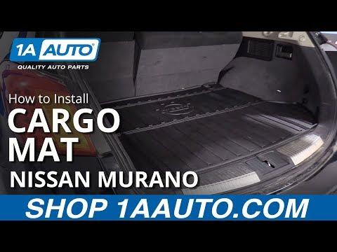 How to Install Cargo Mat 09-14 Nissan Murano