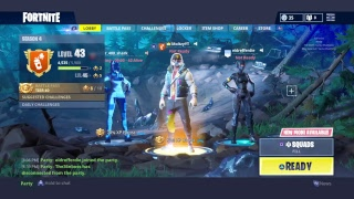 FORTNITE LIVE STREAM NEW ABSTRACT SKIN WITH PICKAXE