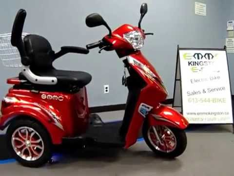 ET3-ES Classic 3 wheeled ebike walk around - YouTube