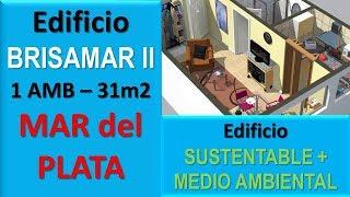 Departamentos Pozo Mar del Plata - Edificio Brisamar II - 1 AMB Dpto C - 31 M2