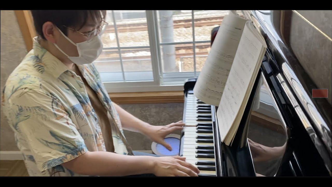2021年9月30日のサックス四重奏Adam「ピアノ、ツナマヨ、アロハシャツ」