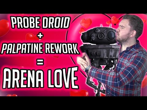 Imperial Probe Droid is Emperor Palpatine's Secret Weapon for Arena | Star Wars: Galaxy of Heroes