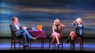 Q&A Laura Bell Bundy and Sheridan Smith FULL