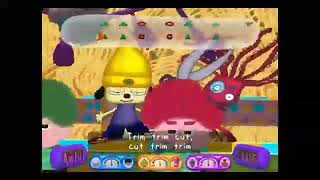 Going from awful to cool in parappa 2