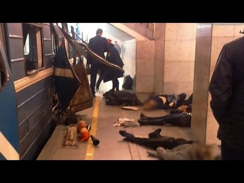 St. Petersburg Metro attack in perspective - YouTube