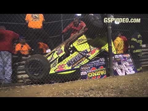 410 Sprint Cars - 8/25/2015 - New Egypt Speedway