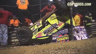 410 Sprint Cars - 8/25/2015 - New Egypt Speedway