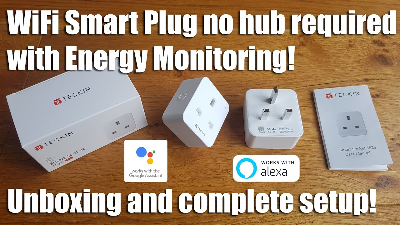WiFi Smart Plug with built in Energy Monitoring by Teckin [Hands on Review  and Test]