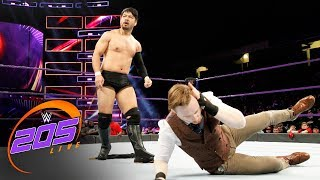 Gentleman Jack Gallagher promises to ruin Hideo Itami's life: WWE 205 Live, Jan. 9, 2018