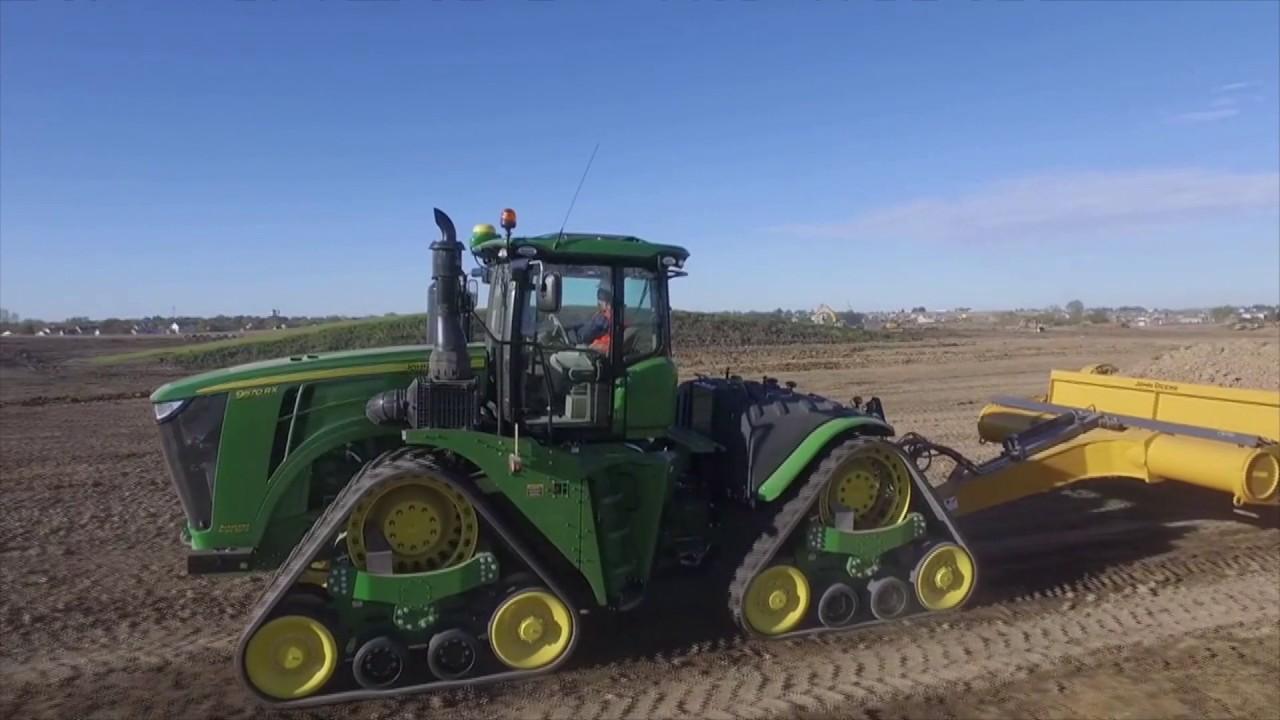 John Deere 9rx Series Scraper Special Tractor Youtube