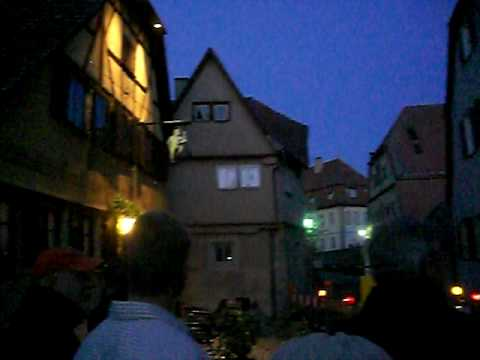 """Go to Hell"" nightwatchmen tour, Rattenburg, Germany"