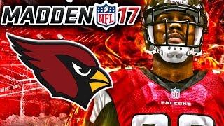 Madden 17 Franchise Mode Week 12 - Atlanta Falcons vs Arizona Cardinals