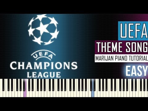 How To Play: UEFA Champions League Hymne - Official Anthem | Piano Tutorial EASY + Sheets