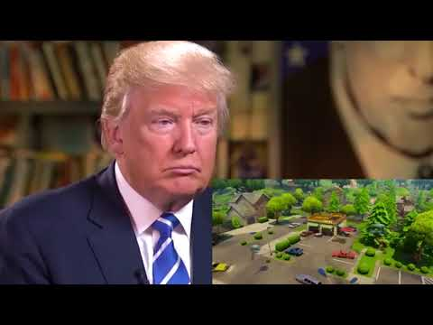 Trump Reacts To Fortnite