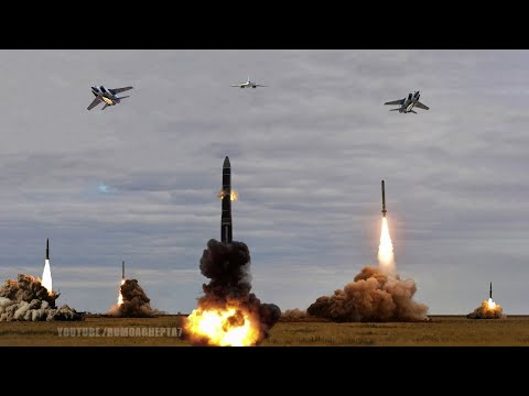 Russia's Military Capability 2021 part 2: Nuclear Counterattack (Short Film)- Bulava,  Kinzhal, Yars