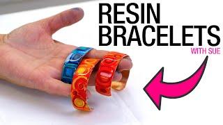 How To Make Reṡin Bracelets
