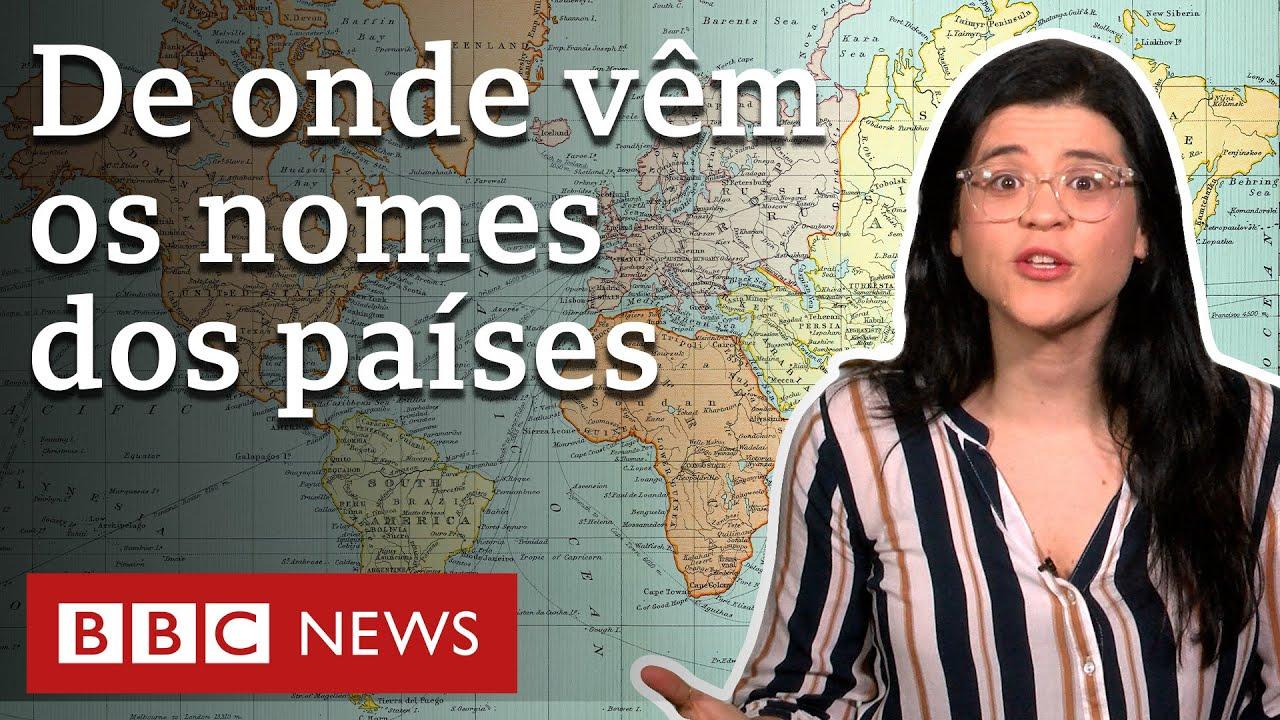 A origem dos nomes de países dos 5 continentes – incluindo o Brasil
