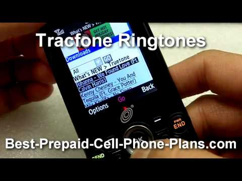 Downloading Tracfone Ringtones