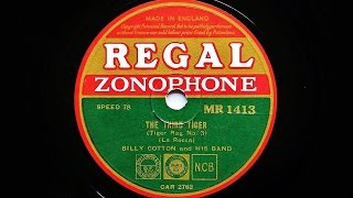 Billy Cotton and His Band – The Third Tiger