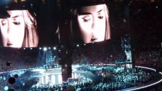 Adele Live in Sydney 2017 - Water Under The Bridge