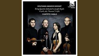 String Quartet No. 14 in G Major, K.387 - 'Spring': I. Allegro vivace assai
