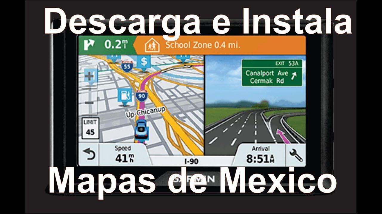 Descargar Mapa Gps Gratis.Descarga E Instala Mapa De Mexico En Gps Garmin Super Facil Y Gratis
