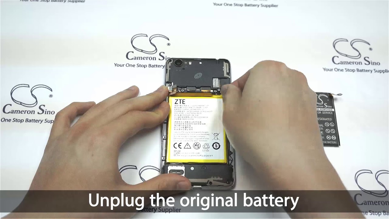 ZTE Z861BL battery replacement || How to replace Cameron Sino battery  CS-ZTA910SL
