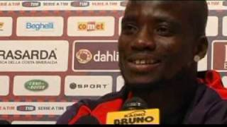 Appiah talks about his debut for Bologna and future