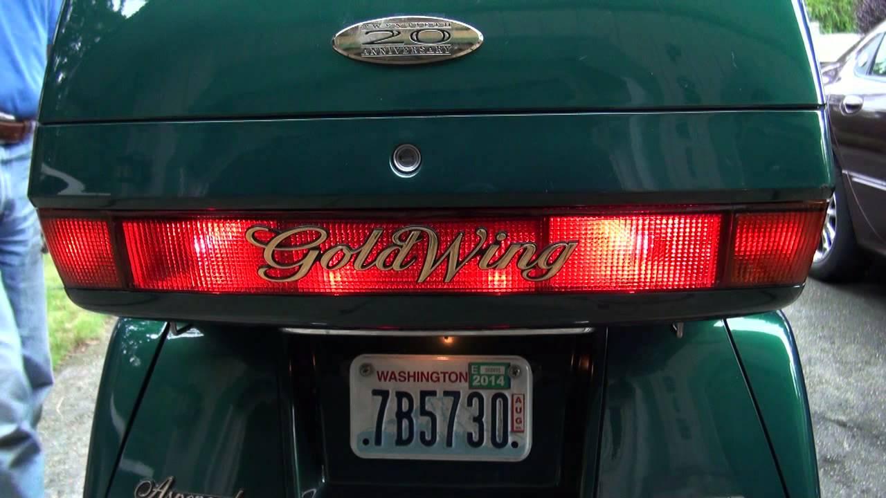 Gl1500 Tail Light Mod Youtube 2000 Goldwing Wiring Diagram