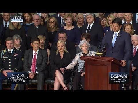 U.S. Capitol Memorial Service for Senator John McCain (C-SPAN)