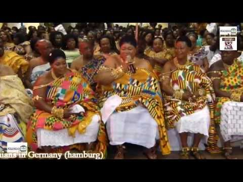 mamponghemaa visits ghanaians in germany hamburg youtube. Black Bedroom Furniture Sets. Home Design Ideas