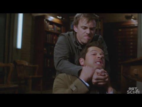 Supernatural - Castiel Shows Michael The Truth 15x08