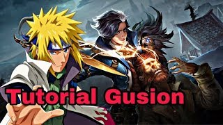 TUTORIAL GUSION BY ASYN SOLOZ ( ITEM & GAMEPLAY )