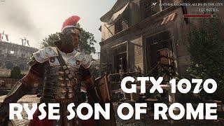 GTX 1070: Ryse Son of Rome MAX SETTINGS