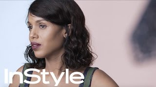 Kerry Washington's Behind the Cover Shoot | InStyle