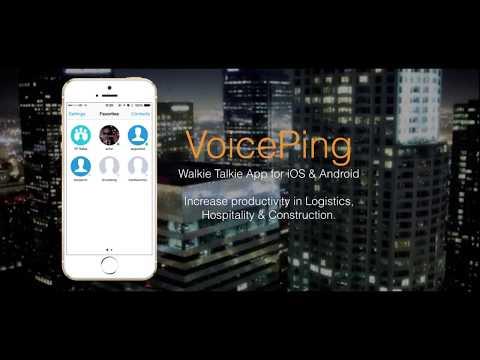 Walkie Talkie App: VoicePing - Apps on Google Play