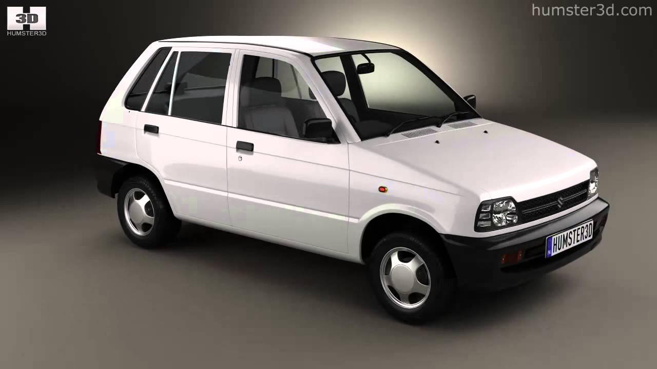 Suzuki (Maruti) 800 1986 By 3D Model Store Hum3D.com